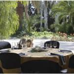 mesas y manteleria para catering