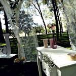 Delicado altar de ceremonia para tu boda en Finca la Pinada