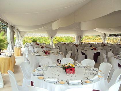 salón de bodas finca la pinada