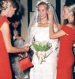 boda de claudia schiffer